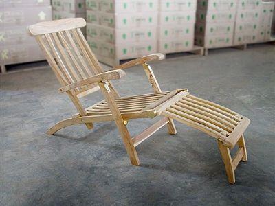 Teak Steamer Chair B C Deck Chairs Pool Umbrellas Teak