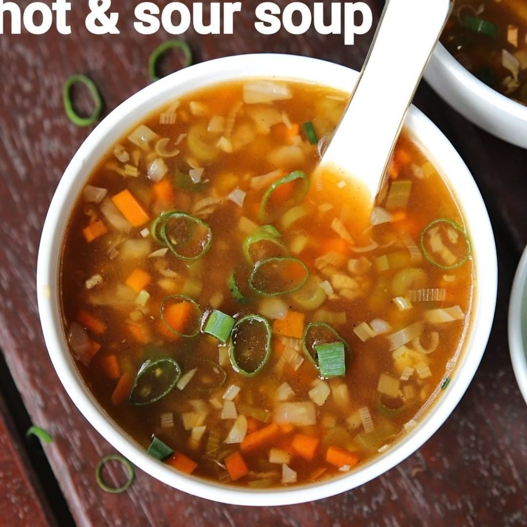 Hebbar S Kitchen On Instagram Hot And Sour Soup Recipe Hot N