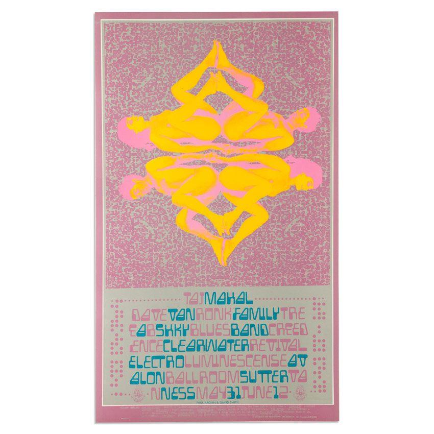 Taj Mahal at Avalon Ballroom - 1968 by Paul Kagan