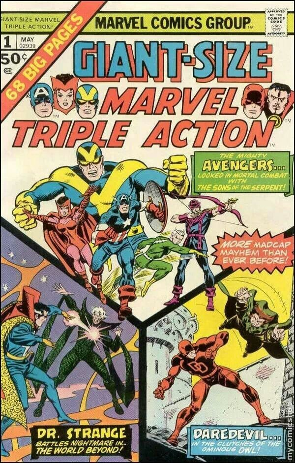 Giant Size Marvel Triple Action #1