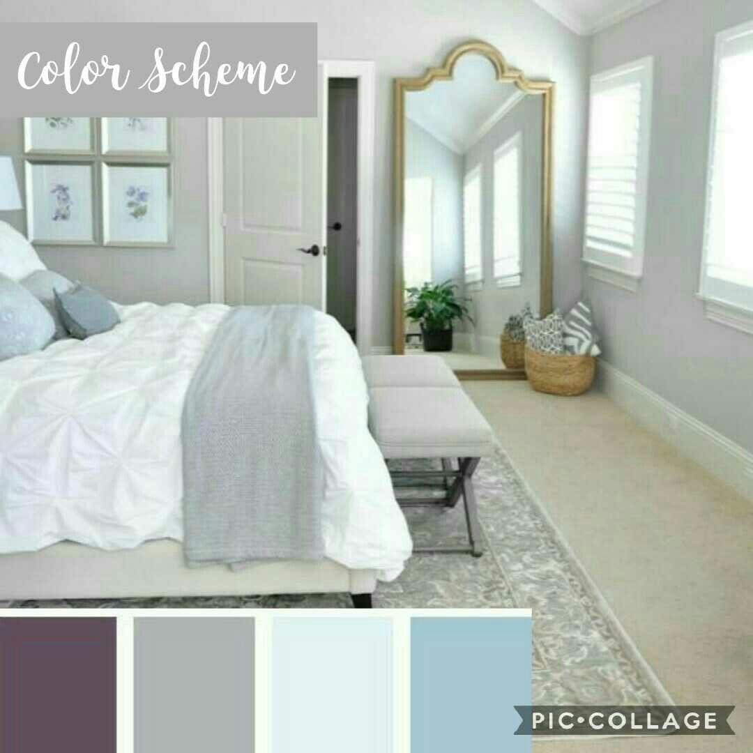 Bed Room Color Scheme Light Grey Walls Purple Comforter Set Light Blue Grey Fitted Crib She Beautiful Bedrooms Master Remodel Bedroom Master Bedroom Remodel