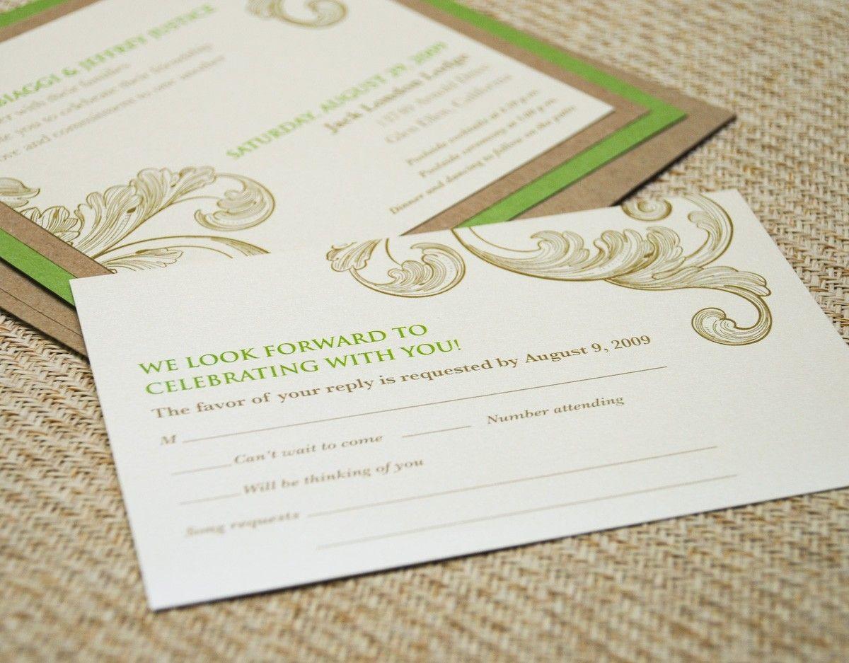 Design Fee - Vintage Flourish Wedding Invitation. $30.00, via Etsy ...