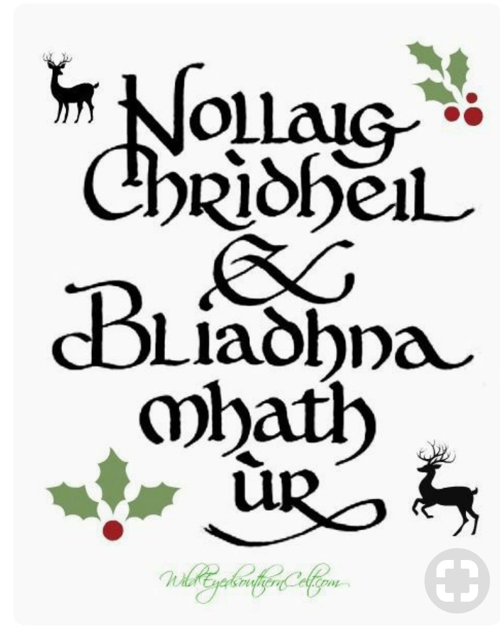 Merry Christmas and Happy New Year   celtic   Pinterest   Merry ...