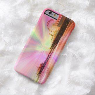 Santa Monica Pier Pink Explosion iPhone 6 case #pink #california #girls #SantaMonicaPier #iPhone6 #candy