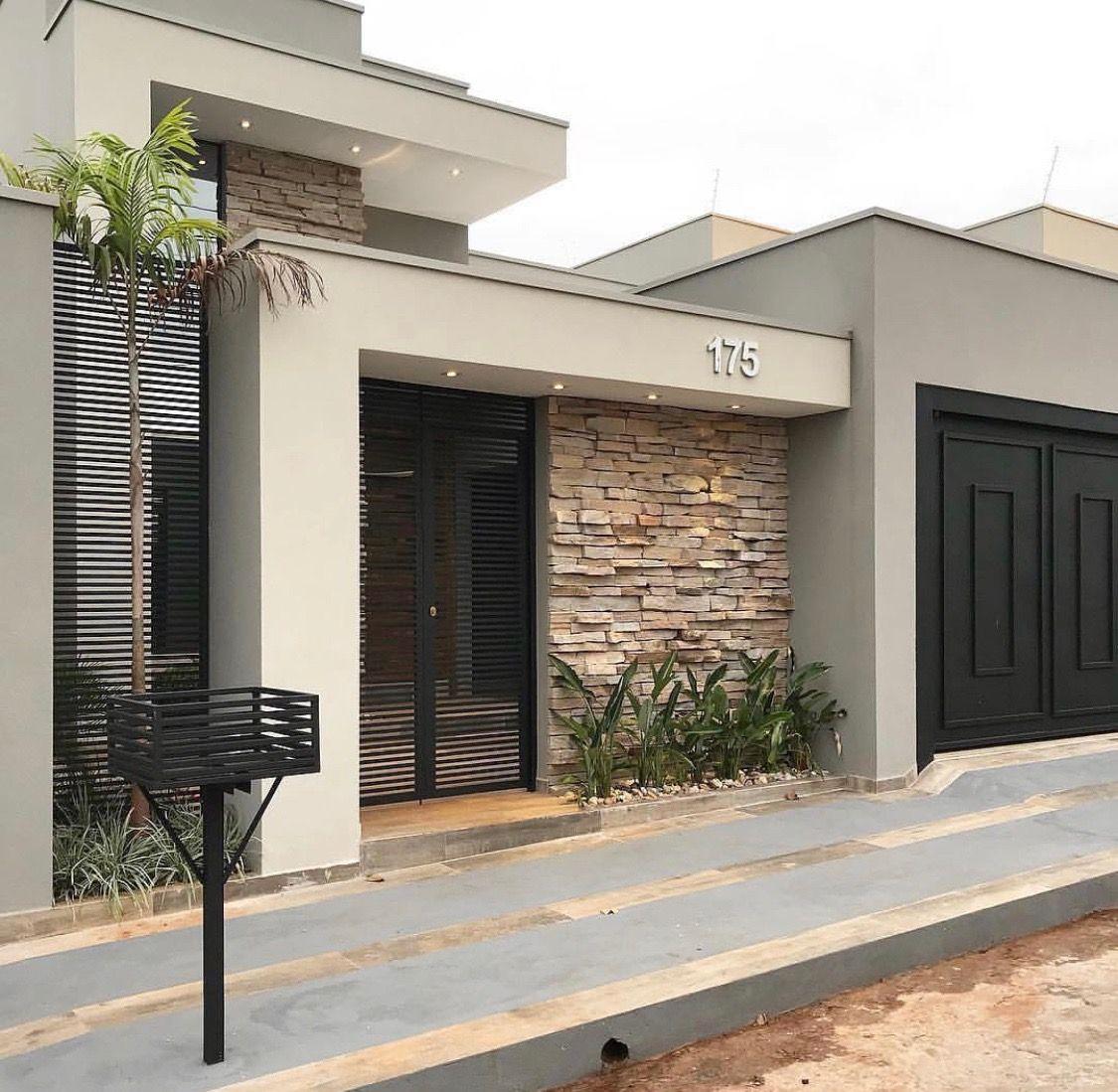 Disenos Puertas Frente Casa 25: Casas Modernas, Fachadas Y Casas
