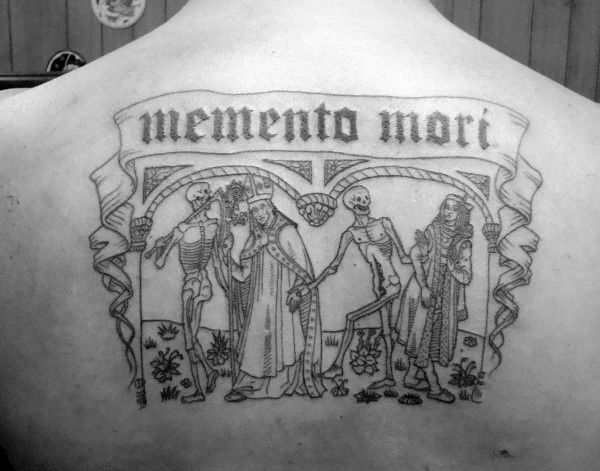 what does in memento mori mean