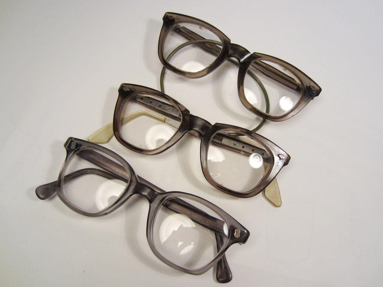 Vintage Eyeglasses Men S Safety Glasses 1950 S