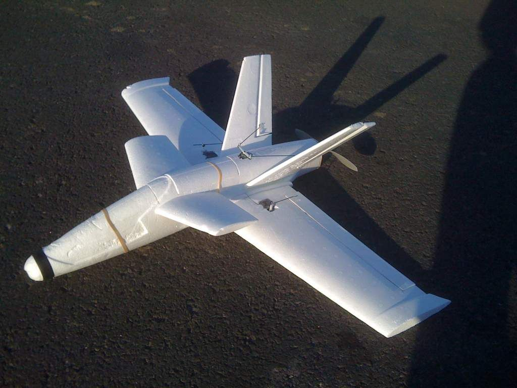 An example of what some have done with the Titan toy foam glider