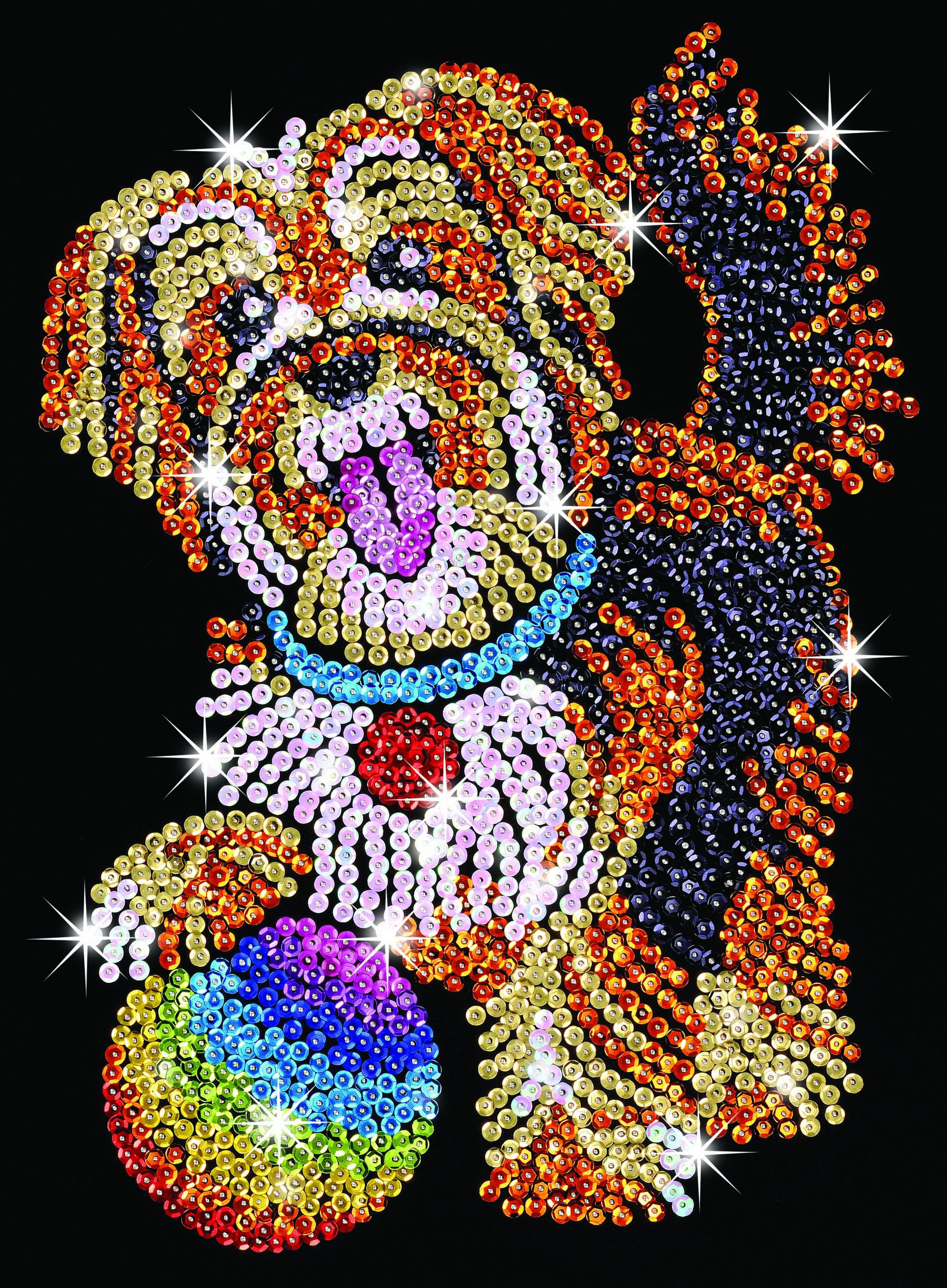 Hobbies Sequin Art Puppy Craft Kit Hobbies Tasha