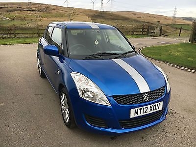 eBay: Suzuki SWIFT 1.3 DDIS SZ3 2012 (12) DAMAGED REPAIRABLE ...