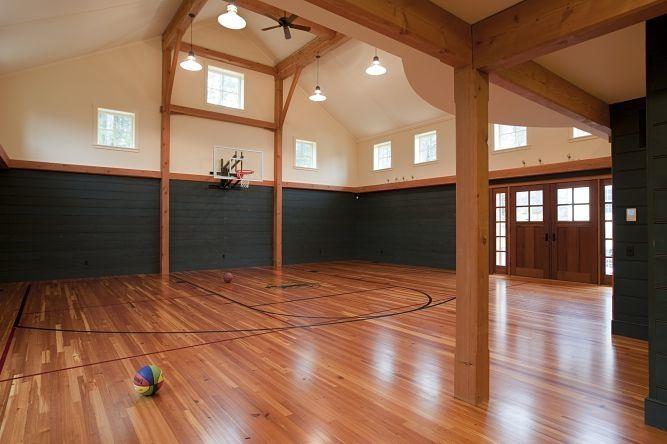 New Timberframe Barn By Landmark Services Home Gym Decor Cool Rooms Barn Loft
