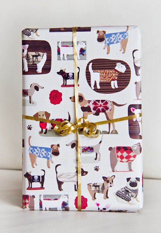 #Dog #Sweaters #eco #gift #wrap from #ecojot designed by @Carolyn Levine Levine Gavin