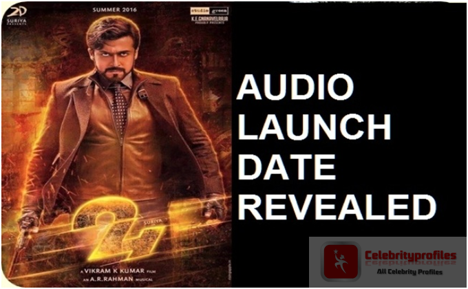 Suriya 24 movie audio launch date revealed celebrityprofiles suriya 24 movie audio launch date revealed altavistaventures Images