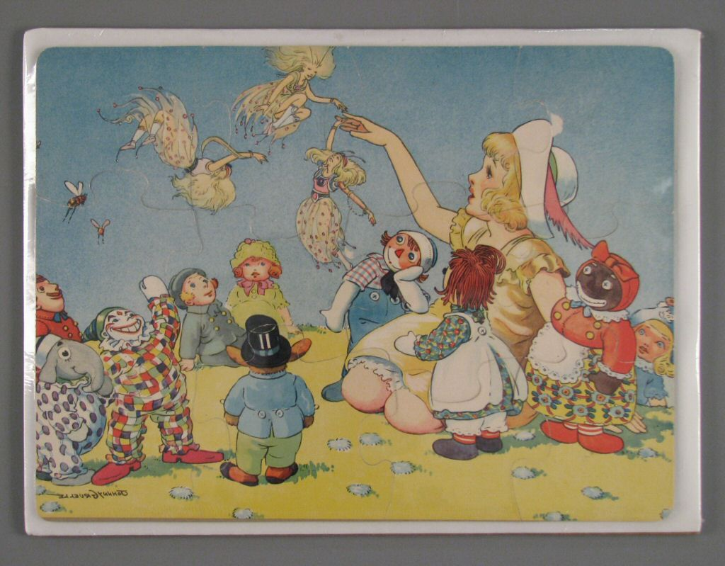 109 15114 raggedy ann and andy puzzle of johnny gruelle sketch