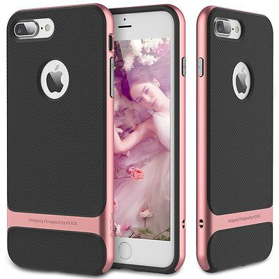 For Apple Iphone 7 7 Plus Hybrid Shockproof Bumper Rubber Case Glass Screen With Images Iphone Apple Iphone Diy Iphone Case