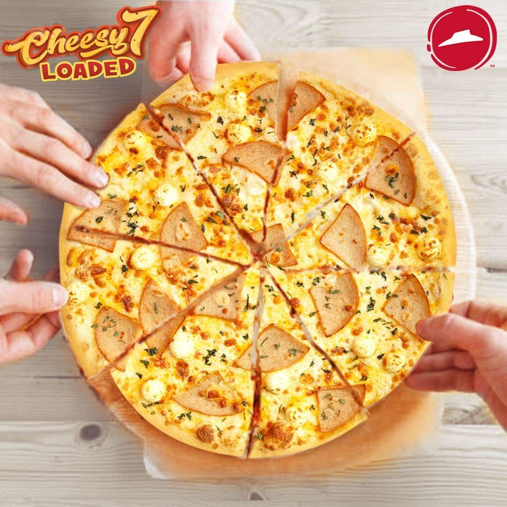 Pizzahutwowcheesy Pizzayummy Pizzahutbrunei Pizza Delivery Food Hawaiian Pizza
