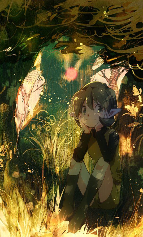 The Legend of Zelda: Ocarina of Time, Saria / 「ゼルダログ」/「aoki」の漫画 [pixiv] [13]