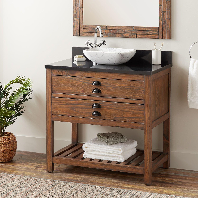 18+ Wood bathroom vanity single sink model