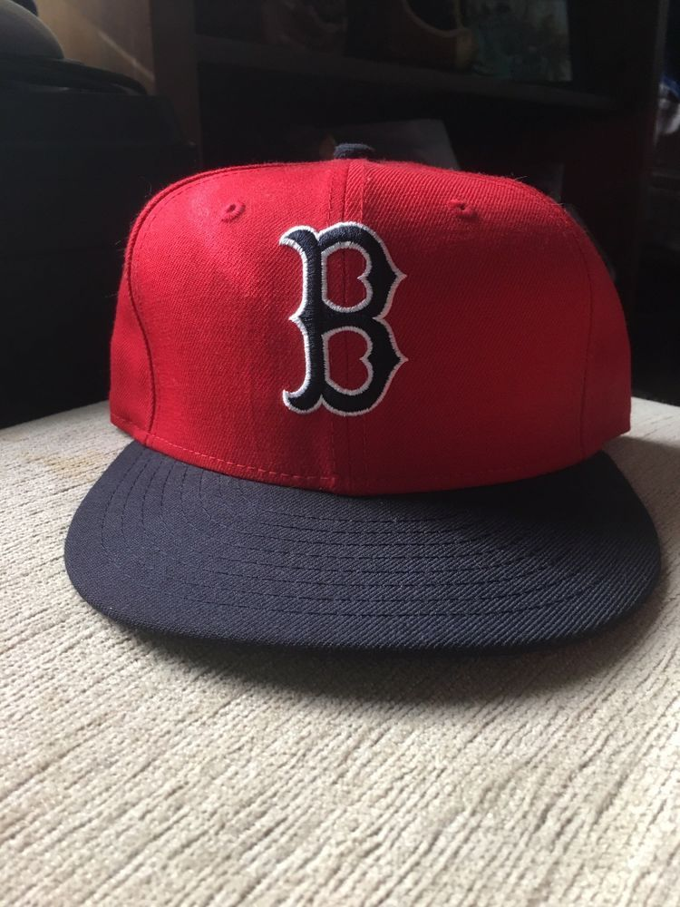 72329951a90 New Era Boston Red Sox GAME 59Fifty Fitted Hat MLB Cap Size 7  fashion   clothing  shoes  accessories  mensaccessories  hats (ebay link)