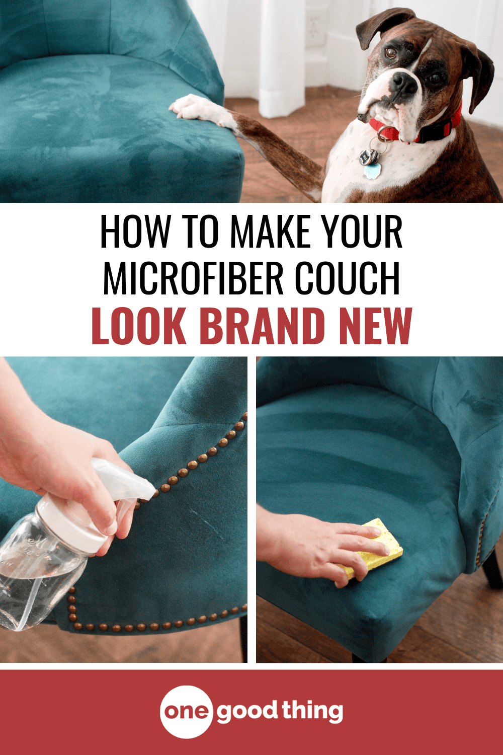How to Clean a Microfiber Couch (& Other Furniture