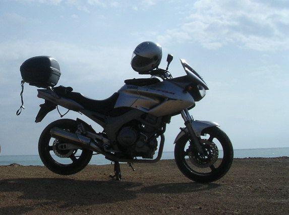 Yamaha TDM 900 (scarface)