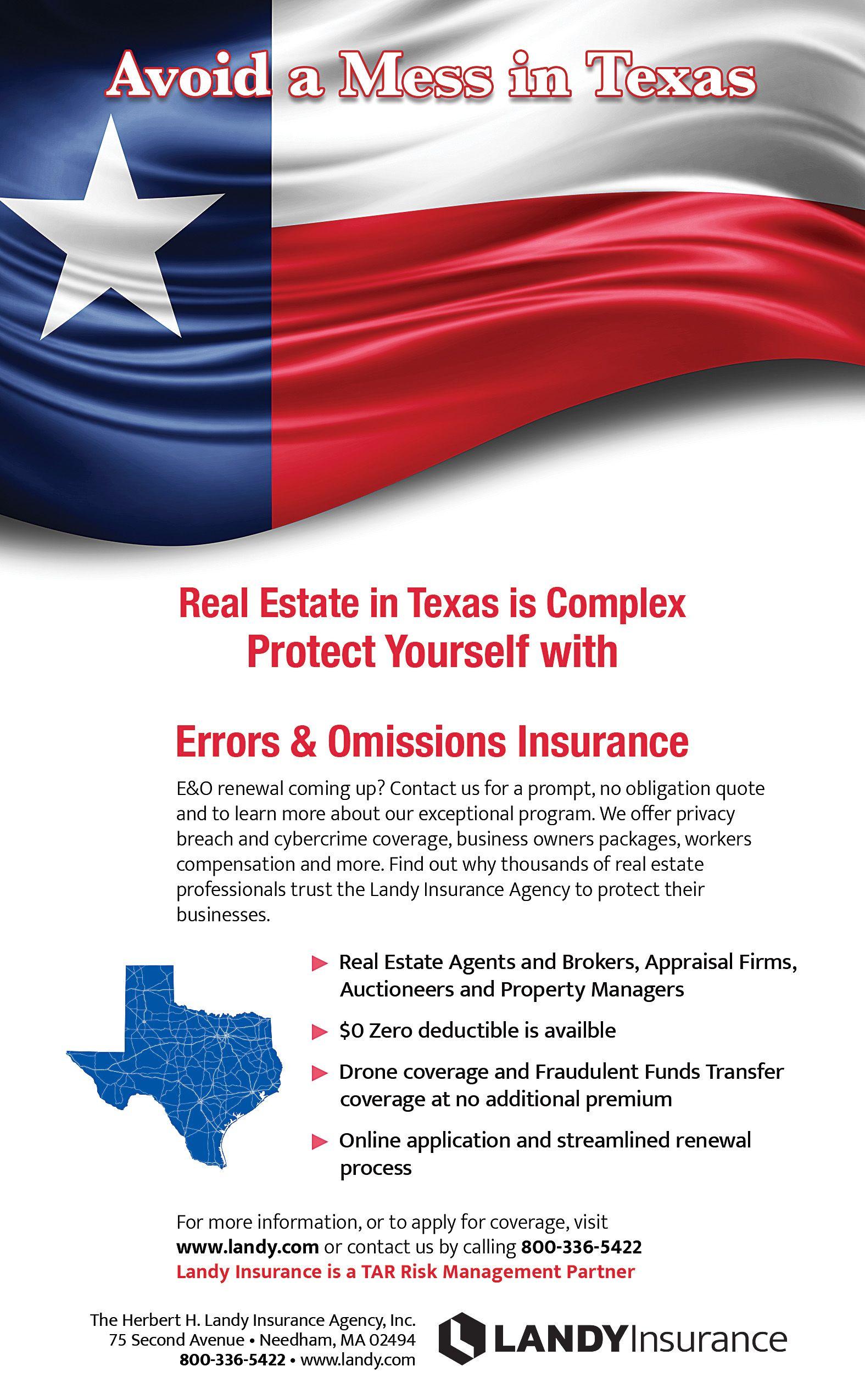 Avoid A Mess In Texas Texas Association of Realtors® Ad