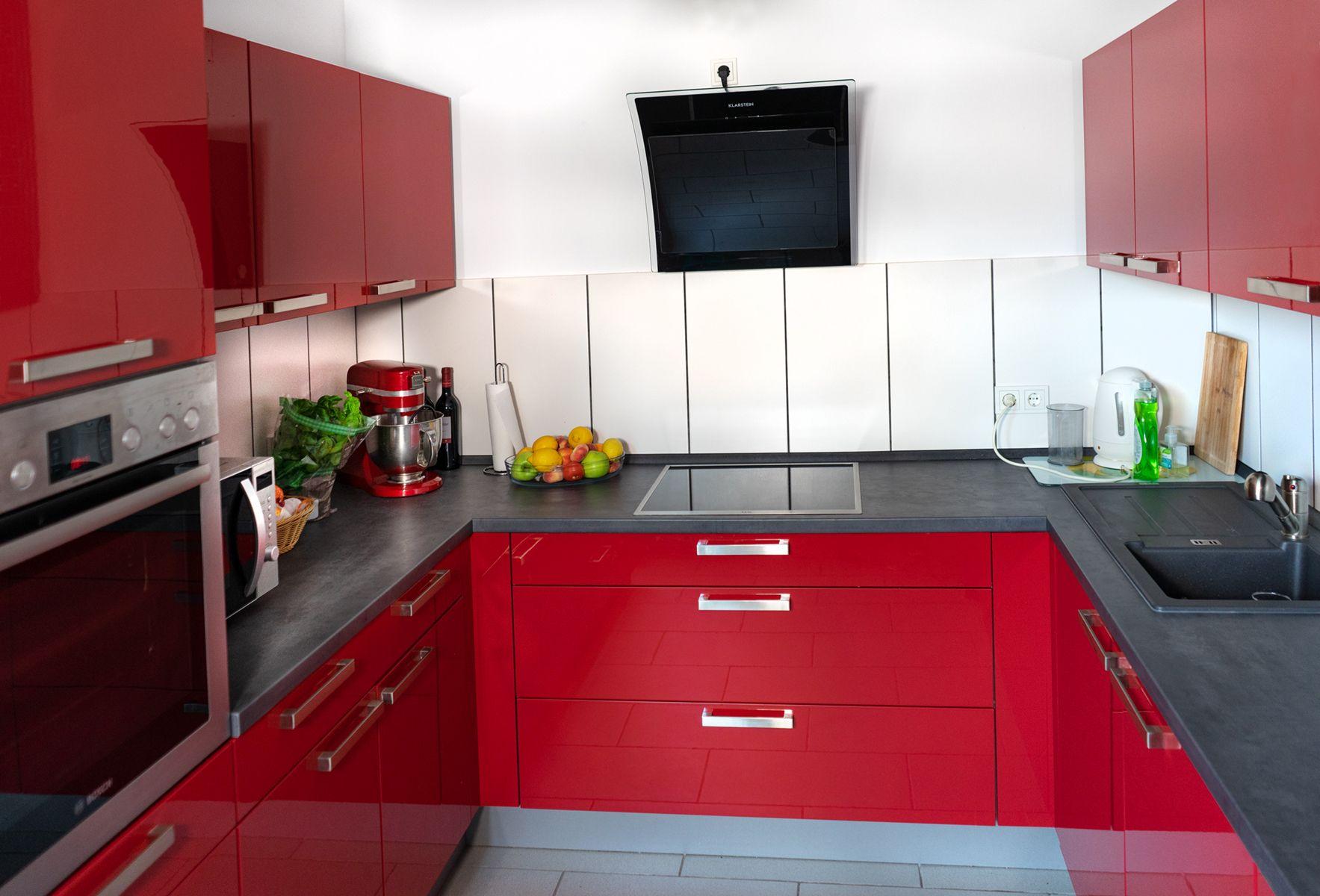Pin von Nadja auf Zimmer in 2020 Küche, Rote küche
