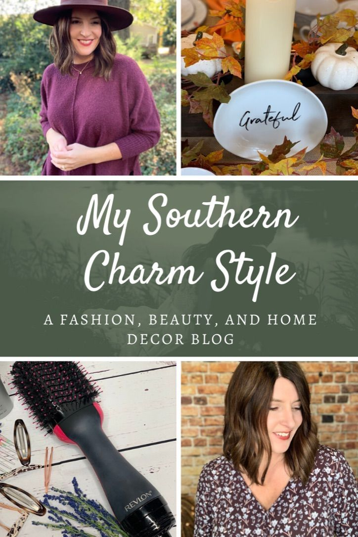 My Southern Charm Style is a blog that primarily features fashion, but also includes home decor and beauty topics.  Created by Kristin Sanders focused on women over 40. #over40blogger #over40fashion #fashionblogger #homedecorblog #beautyover40 #outfitideas
