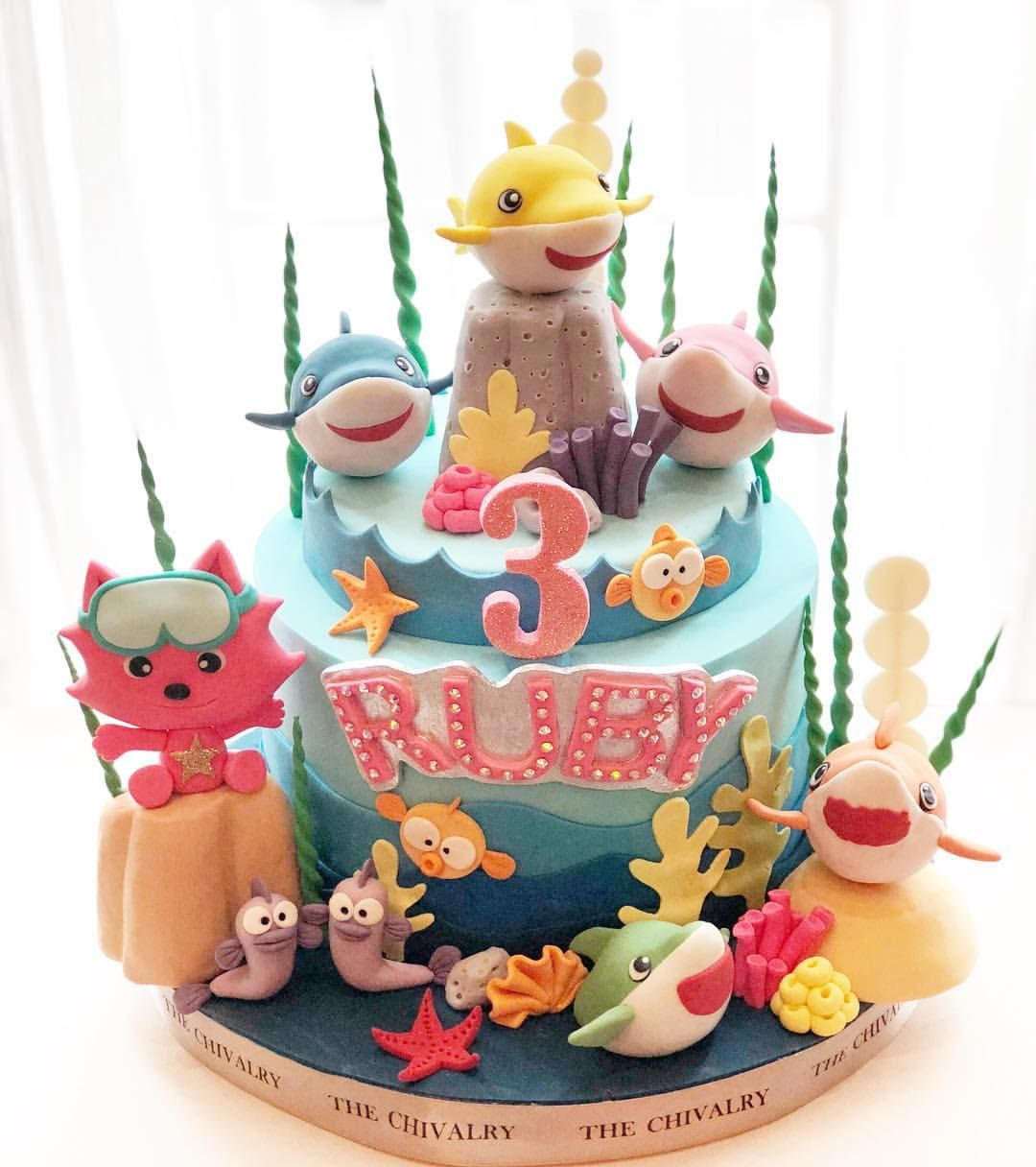 Baby Shark Cakeidea Babysharkcake Birthday Cake Ideas By The