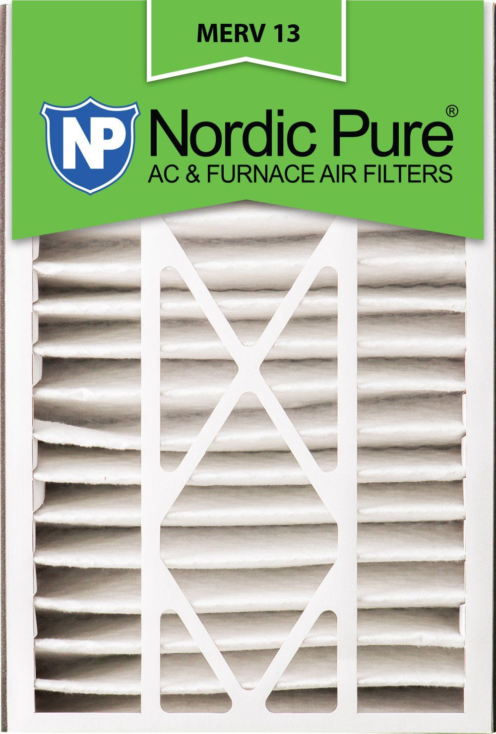 Nordic Pure 16x25x5ABM13 MERV 13 Trion Bear 266649105