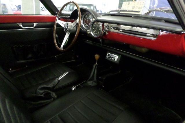 1962 Abarth 850 Allemano Scorpione Interior