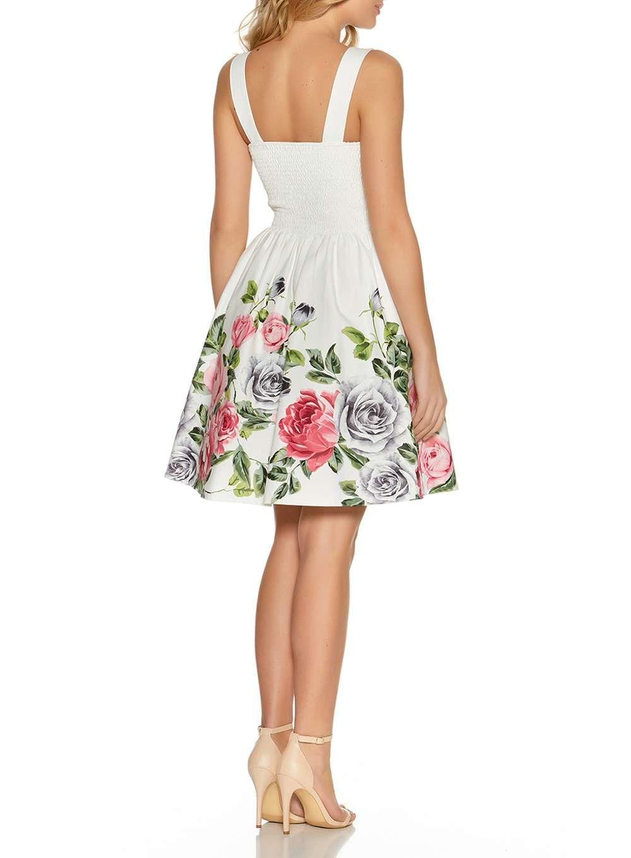 Quiz cream floral print prom dress prom dresses pinterest products
