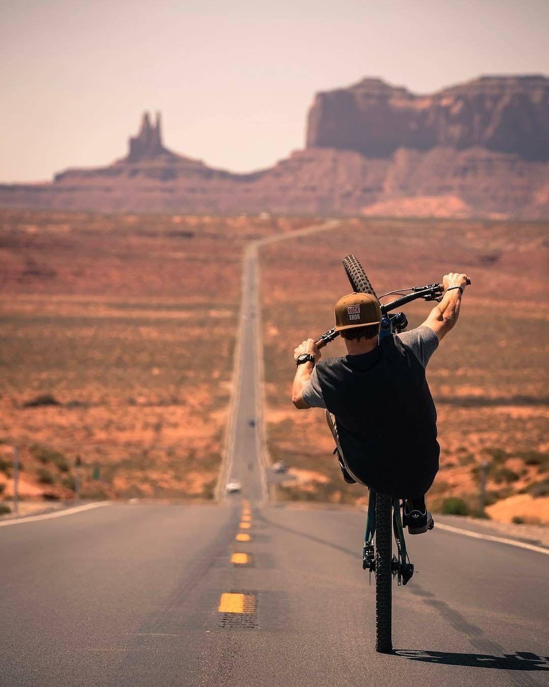 Wheelie Mtb Bike Mountain Mountain Biking Photography Freeride Mtb
