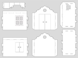 Casa in cartone per bambini giada pinterest bambini fantasia e vendita online - Costruire una casetta di cartone per bambini ...