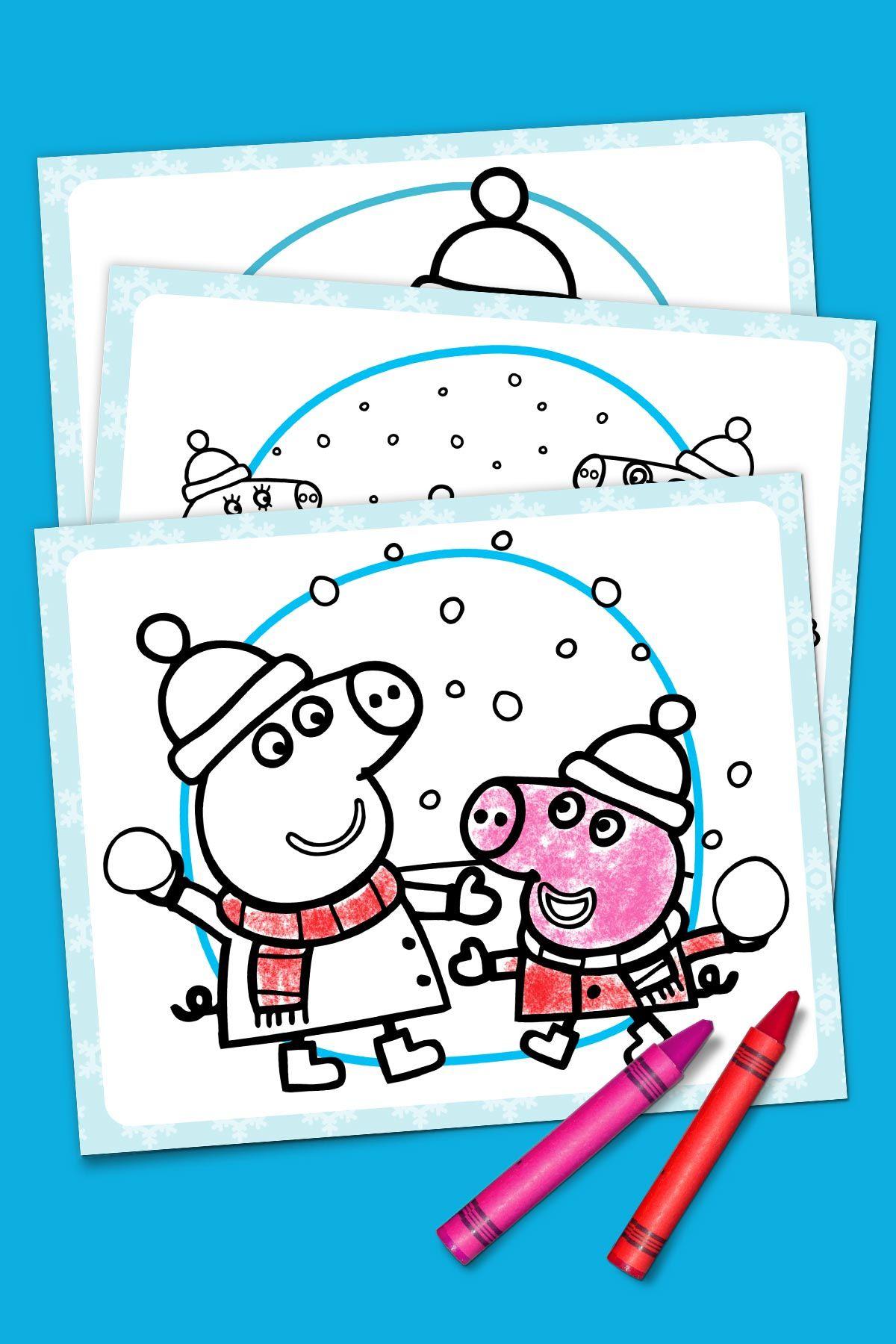 Peppa Pig 39 s Winter Wonderland