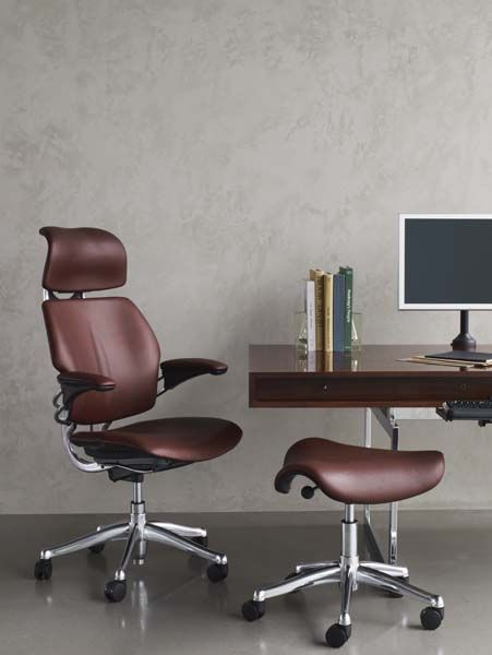 Freedom Task Chair With Headrest Adams Mfg Adirondack Chairs Ergonomic Seating From Humanscale