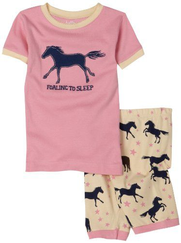 72efc2247f0b Hatley Girls 2-6x Starry Night Horses Short Pajama Set $7.00 | Gifts ...