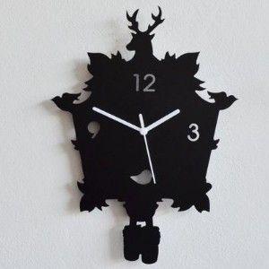 Silhouette Modern Cuckoo Wall Clock @ 33% Off