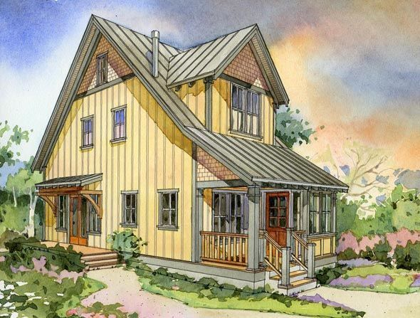 the alder cottage three front love these designs from perfect little house little houses pinterest third house and smallest house - Cottage Houses Photos