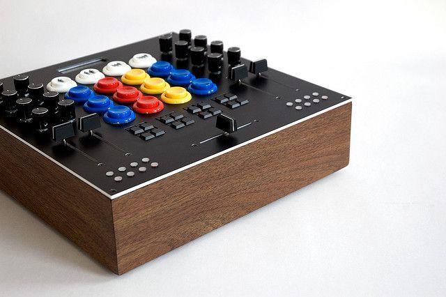 MIDIBox Angle | Product Design | Arcade buttons, Music