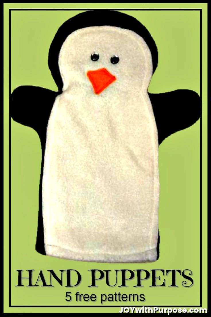 How to Make HAND PUPPETS #handpuppets