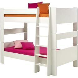 Photo of Etagenbett – weiß – 206 cm – 164,3 cm – 114 cm – Kindermöbel > Kinderbetten > Hochbetten Möbel Kraft
