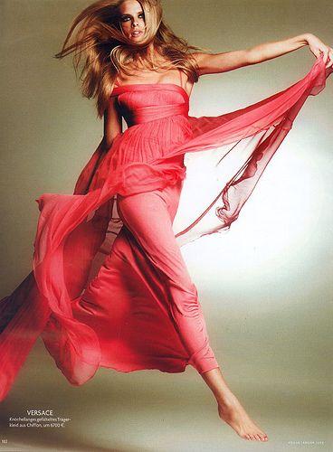 Julia Stegner in pink