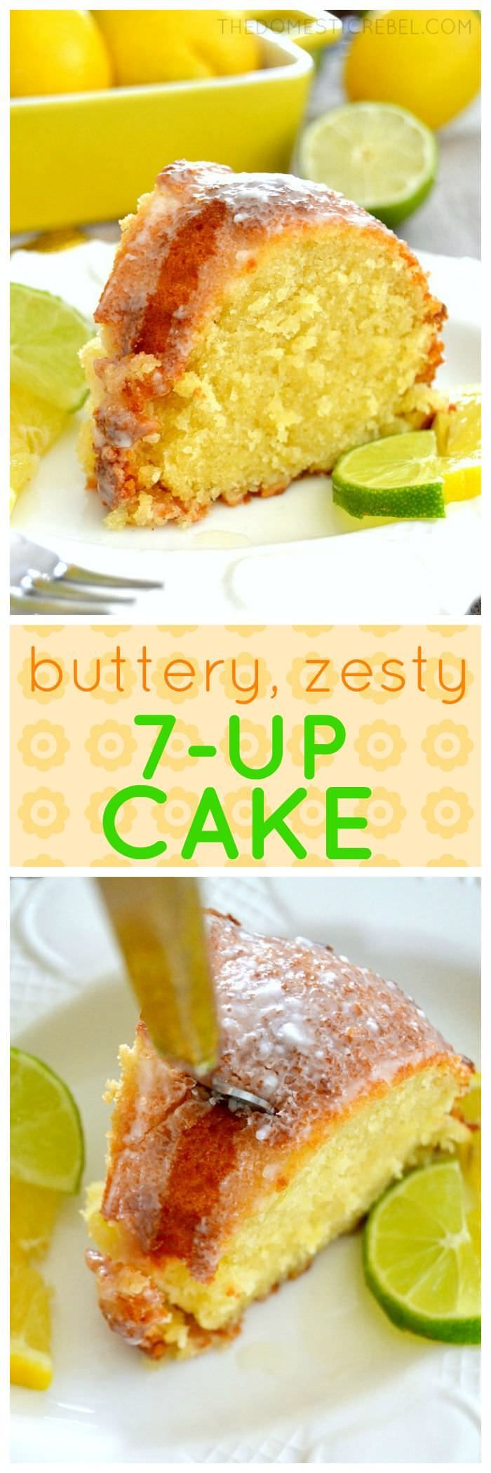 Delicious 7-Up Pound Cake