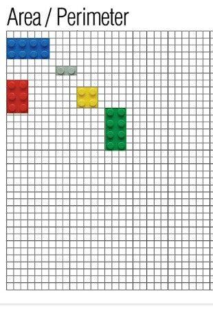 Area perimetro con lego
