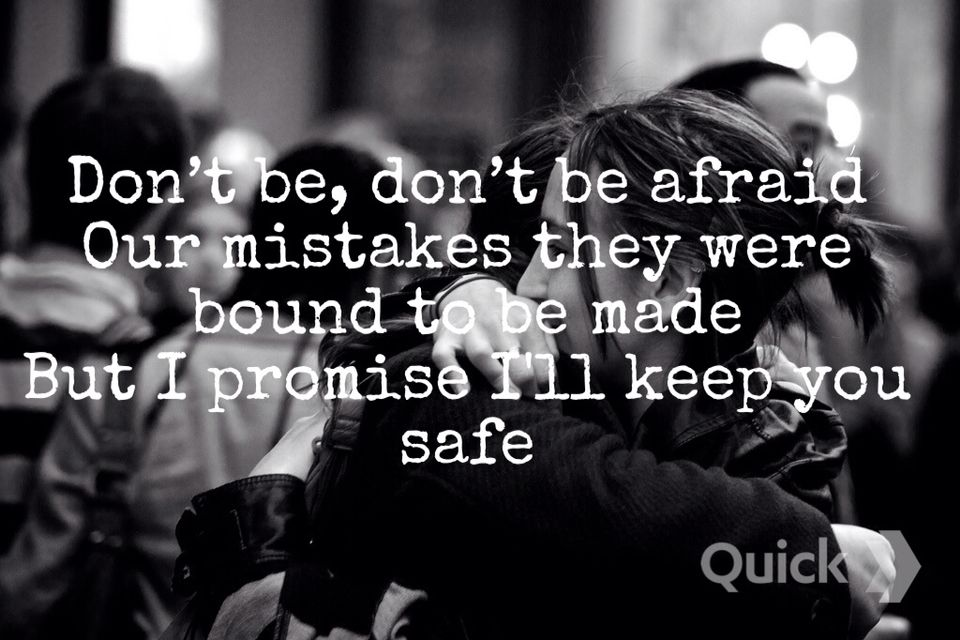 I'll Keep You Safe by Sleeping At Last Quote