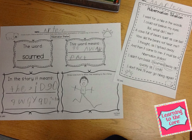 How to get started with Close Reading in Kindergarten and 1st Grade!