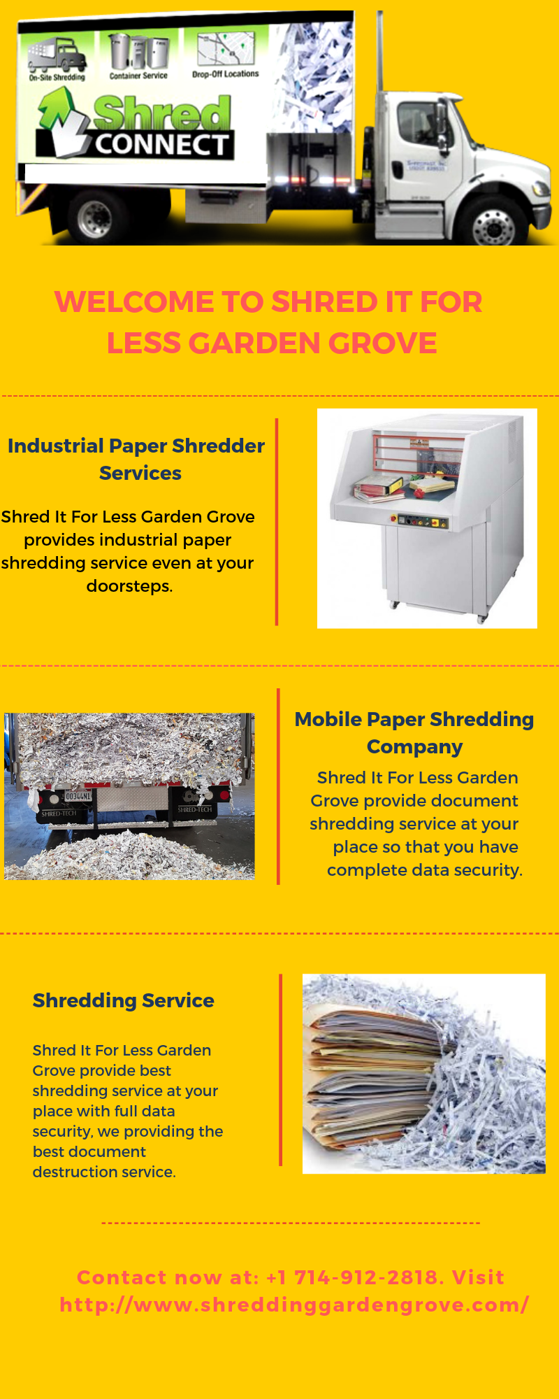 Are You Looking For Industrial Paper Shredder Service Shred It For Less Garden Grove Provides Industrial Paper S Shredding Service Paper Shredder Garden Grove