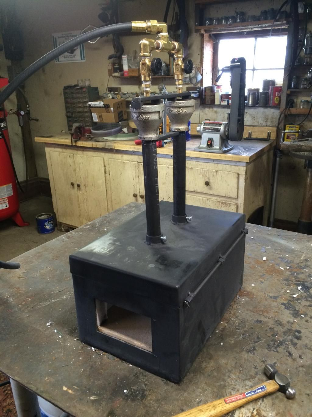 New Majestic Forge - a couple of questions - Pictures.