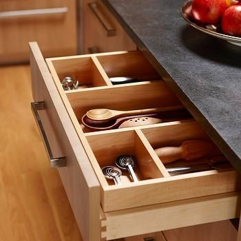 Cutlery Drawers Transitional Kitchen O Brien Harris Kitchen Organization Kitchen Drawer Organization Home Kitchens
